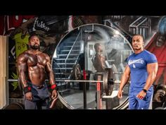 100 Rep Chest Workout | Mike Rashid & Elijah Farrakhan - YouTube