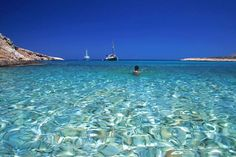 Crystal clear waters of Greece Places Around The World, The Places Youll Go, Places To See, Around The Worlds, Vacation Destinations, Dream Vacations, Vacation Spots, Greece Vacation, Vacation Ideas