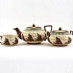 Witch Tea Set 3Pc – Royal Doulton Seriesware 1