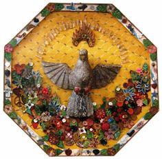 Arte Popular e Design Arte Popular, Videos Catolicos, Do It Yourself Projects, Master Key, Sacred Art, Religious Art, Box Art, E Design, Altar