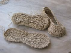 Crochet Slipper Pattern.