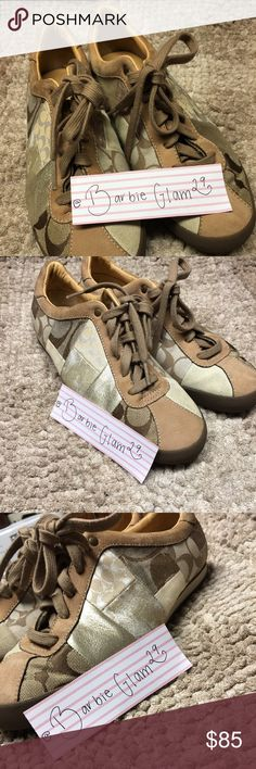 Coach shoes Worn 2 time and very comfortable. Coach Shoes Sneakers