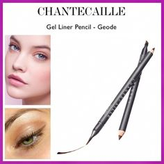 Chantecaille Gel Eyeliner Pencil - Geode The first long-wearing gel eyeliner housed in a sustainable pencil. One end contains a long-wearing smooth gel for perfect definition.  The other includes a multi-purpose brush that can draw a clean, precise line or can create a smoky eye. Made in Italy. Retails for $33!! BNIB. Never used or swatched. 100% Authentic. No Trades, No PP. Chantecaille Makeup Eyeliner