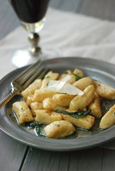Winter Squash Gnocchi with Brown Butter & Sage