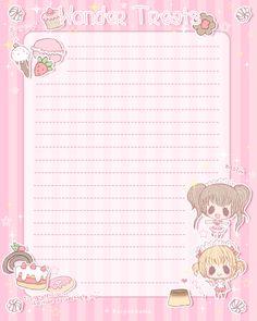 Wonder Treats Stationery by Kaiyakkuma.deviantart.com on @deviantART