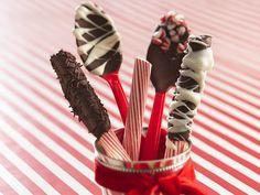 Chocolate Spoons: http://content.bettycrocker.com/recipes/chocolate-spoons/df5b52b6-6684-4c48-92ba-ddc3357528ef?sc=Holiday%20Deocration%20and%20Centerpiece%20Recipes&term=Holiday%20Centerpiece&itemId=ae8da88e-c576-4988-93cc-47174f245442