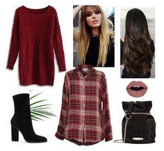 """""""Başlıksız #1314"""" by begum-06 ❤ liked on Polyvore featuring Velvet by Graham & Spencer, Lanvin, Chicwish and Alexander Wang"""