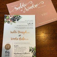 Foto undangan pernikahan oleh Godeliva