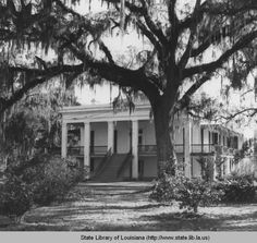 Belle Alliance Plantation in Assumption Parish Louisiana :: State Library of Louisiana Historic Photograph Collection