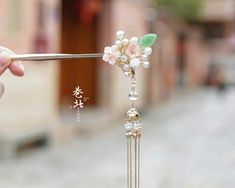 Chinese Hairpin, Bride Hair Accessories, Fantasy Jewelry, Bride Hairstyles, Barrette, Hair Pins, Bobby Pins, Backdrops, Costumes