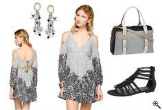 Kurzes Babydoll Kleid mit Langarm Ärmeln + Outfit Ideen: http://www.kleider-deal.de/kurz-babydoll-kleid-langarm-aermeln-outfit-ideen/ #Babydoll #Kleid #Kleider #Dress #Outfit #Fashion #Mode