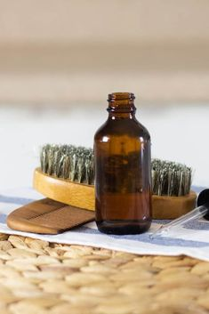 Making your own beard shampoo will keep your beard clean without the chemicals found in traditional shampoos. This DIY beard shampoo is made with all-natural ingredients, scented with essential oils, and will keep your beard soft and easy to style. #beardshampoo #homeamdeshampoo #naturalbeardcare #beardcare