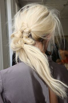 19 Next-Level Ponytails That Are Lazy Girl-Approved | Brit + Co