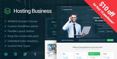 Hosting Business  - Technology, Software and Hosting WordPress Theme - Hosting Technology