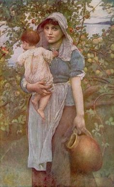 Annie Louisa Swynnerton  British, 1844 - 1933  The Young Mother