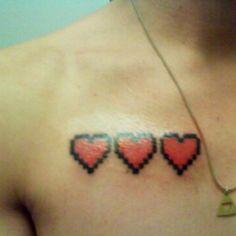 Zelda heath bar chest piece