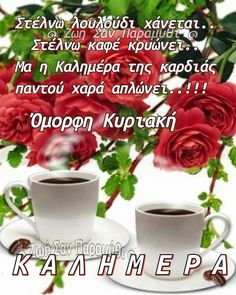 Beautiful Pink Roses, Good Morning Good Night, Greek Quotes, Diy And Crafts, Memes, Plants, Ideas, Nice Asses, Meme