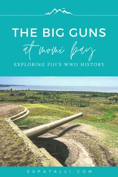 One of the most unique things to do in Fiji is to discover its fascinating WWII history. The Momi Bay guns is one of the best destinations near Nadi on the main island of Viti Levu. Here's why it's worth a visit on your trip to Fiji! Travel To Fiji, Asia Travel, Travel Tips, Best Honeymoon Spots, Visit Fiji, The Beautiful South, Local Tour, Island Resort, South Pacific