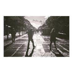Vacaciones en el pueblo #majadahonda #madrid #spain #blancoynegro #blackandwhite #granvia #paseo #christmas #navidad2015 #winter #invierno #2016 #enero #january #walking #holiday