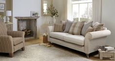 Morland Plain Body 4 Seater Formal Back Sofa Country Sofas, Cottage Lounge, Lounge Cushions, Cottage Sofa, Living Room Sofa, Cottage Living Rooms, Sofa, Cream Living Rooms, Farm House Living Room