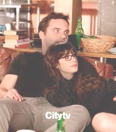 Nick and Jess from New Girl