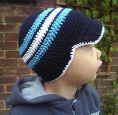 Free Crochet Pattern |Toddler Cap