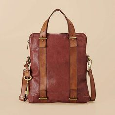 Love Fossil leather bags.