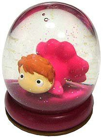 2 left - Soft Dome - Sparkle - Ponyo - Ghibli - 2008 - out of production (new)