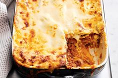 This lasagne has all the essentials - tasty savoury beef mince, creamy bechamel and lots of melted cheese. Beef Lasagne, Lasagne Recipes, Pasta Recipes, Cake Recipes, Mince Recipes, Cooking Recipes, Beef Recipes, Hamburger Recipes, Savoury Recipes