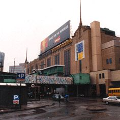 The Boston Garden was an indoor arena in Boston, Massachusetts