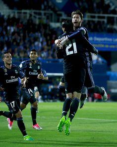 @RealMadrid #Morata y #Ramos #LaLiga #RMLiga #RealMadrid #HalaMadrid #9ine