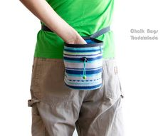 Chalk Bag for Rock Climbing. Bouldering Chalk Bag. Climbing Chalk Bag #climb #climbing #chalkbag