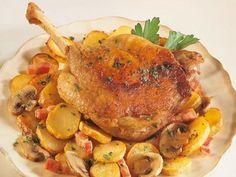 """""""confit de canard"""" recette de la région du Périgord bon appétit !"""
