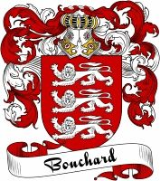 Bouchard Coat of Arms  Bouchard Family Crest   VIEW OUR FRENCH COAT OF ARMS / FRENCH FAMILY CREST PRODUCTS HERE