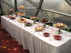 Cheesecake Bar at your wedding?!? Yes Please!!