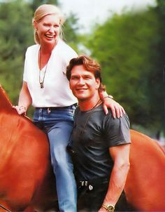 Patrick Swayze and wife Lisa Niemi.  Married in 1975 until his death in 2009--34 yrs.