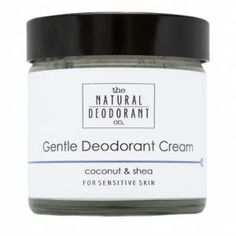 Natural Deodorant Company Gentle Deodorant Balm with Coconut & Shea