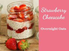 Rezept für Overnight Oats Strawberry Cheescake
