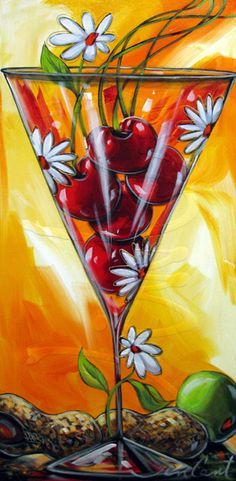 Daniel Vincent Par un beau jour 30 x Flower Painting Canvas, Wine Painting, Fruit Painting, Daniel Vincent, Art Du Vin, Wine Art, Z Arts, Kitchen Art, Vintage Posters