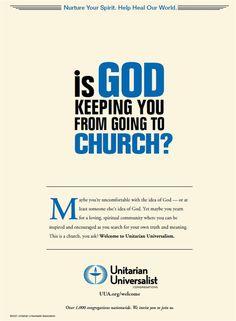 Can an Atheist Be a Unitarian Universalist?