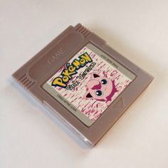 504c3483 Pokemon Pink Fanhack Repro Cart for Nintendo Gameboy Game Boy Color. Brand  new, perfect. Depop