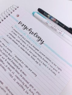 neat notes layout - notes neat - notes neat handwriting - neat notes study inspiration - how to write notes neatly - neat school notes - neat notes layout - neat study notes - how to take neat notes Cute Notes, Pretty Notes, Good Notes, School Organization Notes, Study Organization, Psychology Notes, Learning Psychology, Pretty Handwriting, Notes Handwriting