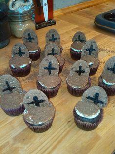 Halloween cupcake's