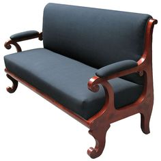 Shop Biedermeier furniture at the world's largest source of Biedermeier and other authentic period furniture. Sofa Furniture, Furniture Design, Biedermeier Sofa, Wooden Sofa Set Designs, Sofas, Wood Sofa, Sofa Shop, Vintage Sofa, Contemporary Sofa
