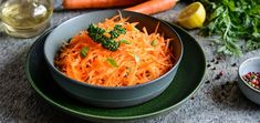 Get back to basics with the perfectly balanced flavors of this simple grated carrot salad recipe. It's wonderfully aromatic and tasty.
