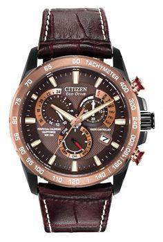 Citizen Citizen Eco-Drive  Perpetual Chrono A-T AT4006-06X Atomic Timekeeping