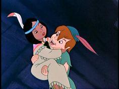 Image detail for -Favorite Peter Pan and Tiger Lily moment? - Peter Pan and Tiger Lily . Old Disney, Disney Love, Disney Magic, Disney Pixar, Disney Stuff, Disney Couples, Disney Art, Peter Pan And Tinkerbell, Peter Pan Disney