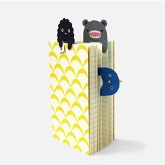 Image of set carnets + marque-pages Noodoll // Happy Travellers Pack