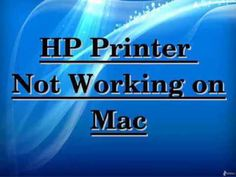 Are you facing issue with HP printer not working? Dial to HP customer service number to resolve issues related to HP not working properly. Our executives will help you to resolve issue related to HP Printer not working on mac. Hp Drucker, Hp Printer, Customer Service, Mac, Number, Customer Support, Poppy