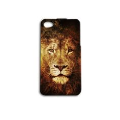 Lion iPhone 4 or 4s and iPhone 5 case by iBrandusa on Etsy, $12.99  etsy.com/shop/ibrandusa